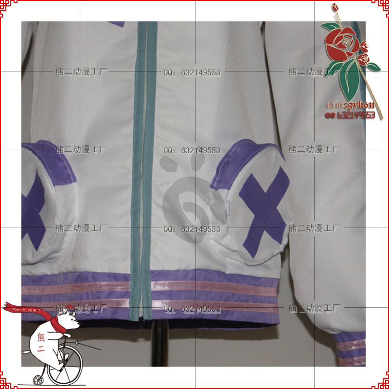 Netune Purple Heart Hoodie - Hyperdimension Neptunia Cosplay - Костюмдер - фото 4