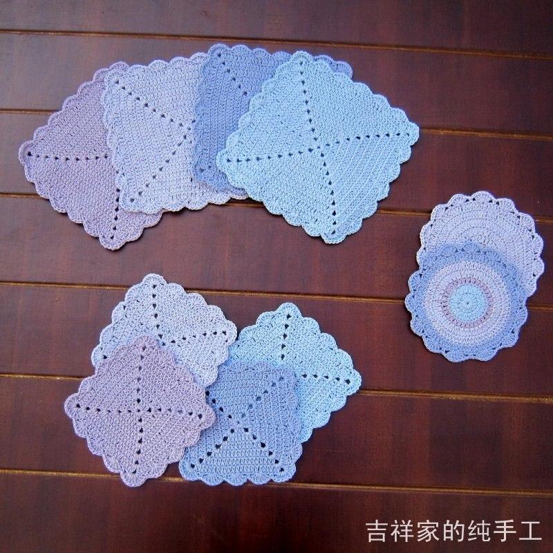 US $9.92 |Trasporto libero del cotone crochet centrini in tessuto 2104  nuovi accessori per la cucina batuffolo di cotone piccolo fresco per la  casa ...