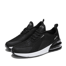 ALDOMOUR Running Shoes Men Sneakers Trainers Comfortable Air Cushion Hombre Lovers Lace-Up Breathable Ultraboost Wave Outdoor R