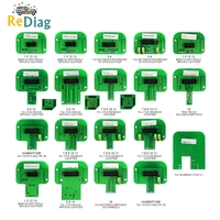 BDM Probe 22pcs Full Adapters For KTAG KESS KTM Dimsport Denso, Marelli, Bosch, Siemens Works LED BDM Frame ECU Programming Tool