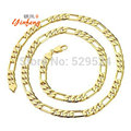 [Yinfeng]Fashion gold plated chain necklace for men women stainless steel chain customized jewelry