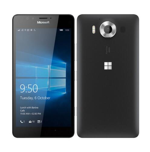 Nokia Microsoft Lumia 950 XL Original Unlocked Windows 10 Mobile Phone 4G LTE GSM 5.7'' 20MP Octa Core 3GB RAM 32GB ROM