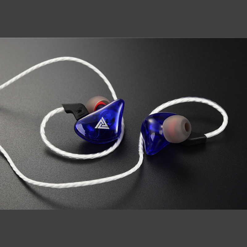In-Ear Hybrid Pro HD Earphone HI FI Mega Bass Dinamis Headphone dengan MIC Kebisingan Pengurangan Headset 3.5 Mm untuk Xiaomi Huawei earplug