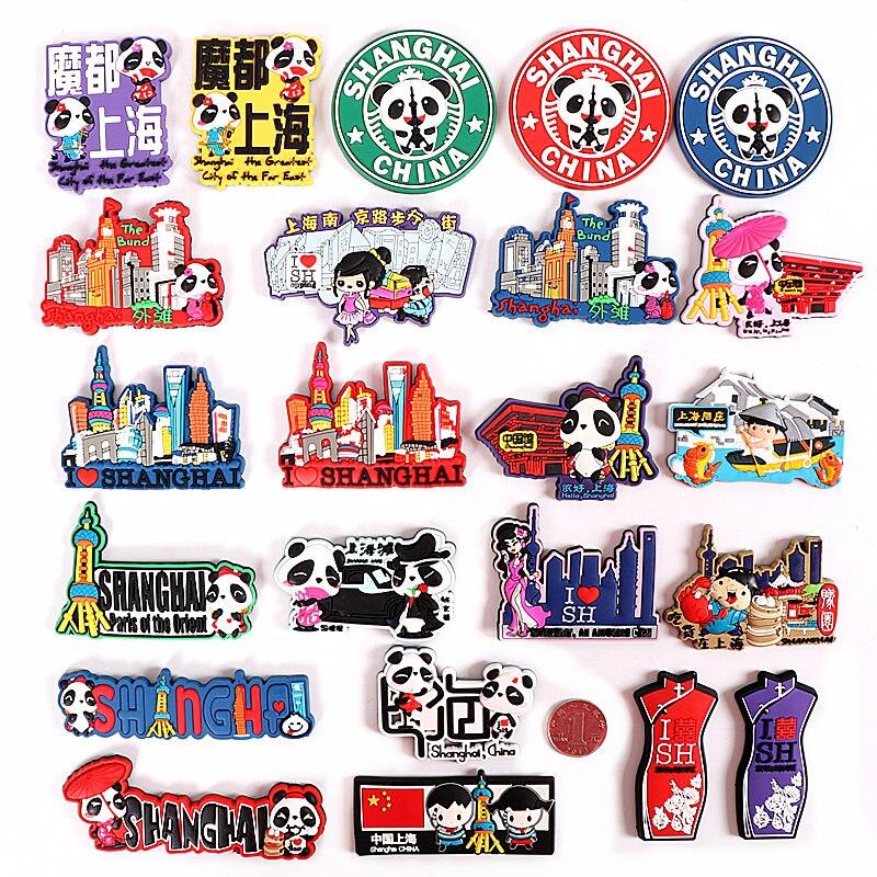 (5 pieces a  lot) China Shanghai souvenirs refrigerator