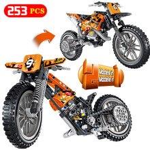 Creator RC автомобильные блоки LegoINGlys Technic внедорожный мотоцикл автомобиль Mirage шторм гоночные автомобили DIY Кирпичи игрушки для детей