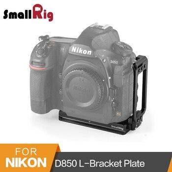SmallRig D850 L-Bracket for Nikon D850 Camera Arca-Swiss Standard Quick Release L Plate Mounting Plate - 2232