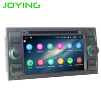 JOYING Quad Core Double 2 Din Android 4 4 Car Stereo Audio DVD GPS Navigation For