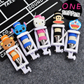 Cartoon Mini Extendable Handheld Monopod Built-in Shutter Self-Stick Holder Monopod For iPhone Samsung Android Phone Smartphone