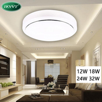 Ceiling Lights Aluminum Acryl High Brightness 220V 230V 240V LED Chip No Need Driver 12W 18W