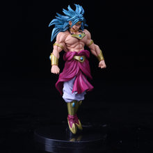 20 centímetros Dragon Ball Z Action Figure Brinquedos DBZ Broly Permanente Modelo Super Saiyan Goku PVC Collectible Presente(China)
