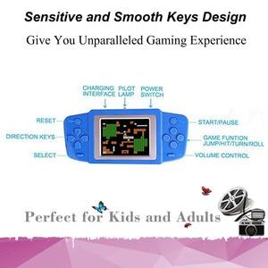 Image 2 - Consola de videojuegos Retro para niños, 268 juegos clásicos, el mejor regalo para niños, rompecabezas