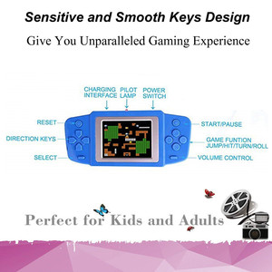 Image 2 - Video Game Retro Handheld Games Console for Kids with Built in 268 Classic Old Games Best Gift for Child Nostalgic Player Puzzle