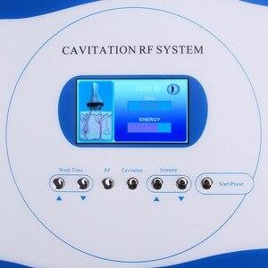 Image 4 - 40k kavitasyon 3 in 1 zayıflama RF makinesi kilo kaybı vücut Spa salonu negatif basınç şekillendirme güzellik enstrüman ev