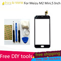 Tools+1PCS Original 5Inch M2 Mini Touch Screen Panel Outer Glass Digitizer Replacement For Meizu M2 Note Mini Touch Screen Parts