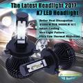 2pcs Spuer Bright H7 LED Headlight Bulb H1 LED H3 H8 H11 H13 H16 9004 9005 9006 9007 H4 LED Headlight Kit Hi Lo