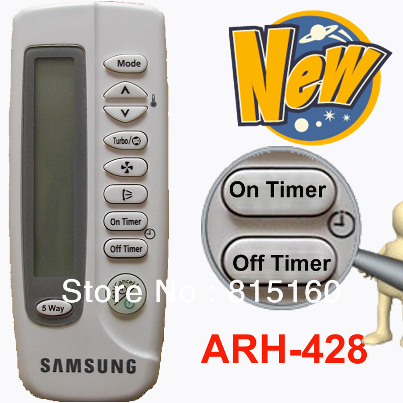 SAMSUNG Split And Portable <font><b>Air</b></font> Conditioner Remote Controller ARH-428 <font><b>Air</b></font> <font><b>Conditioning</b></font> <font><b>Parts</b></font> Free Shipping (1 pcs/lot)