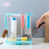 Countertop Drainage Shelf Kitchenware Creative Sponge Shelf Graping Tool Holder