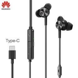 Original Huawei ANC Type-C Earphone Active Noise Cancelling Earphones 3 Hi-res Music Earphones for P20/Mate 10/Mate Pro Mobile