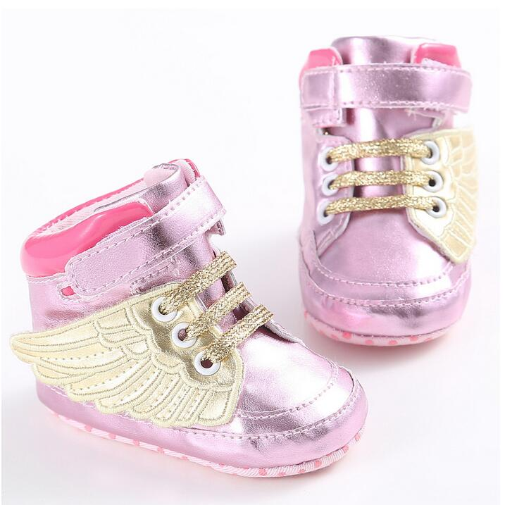 2016 New arrive beautiful red baby girl shoes Spring and Autumn cotton soft sole baby shoes