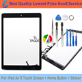 LL TRADER Grand AAA New Replacement For iPad Air 5 5th Touch Screen Tablet Panel Digitizer Front Glass With Button+Adhesive+Tool