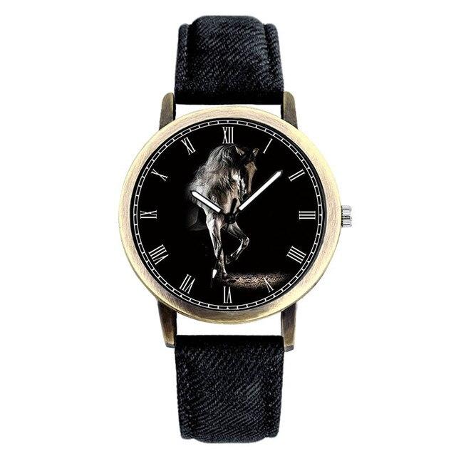 E-0025 BAOSAILI Classic Charm Gentleman Mens Watch Horse Luxury Masculino Male C