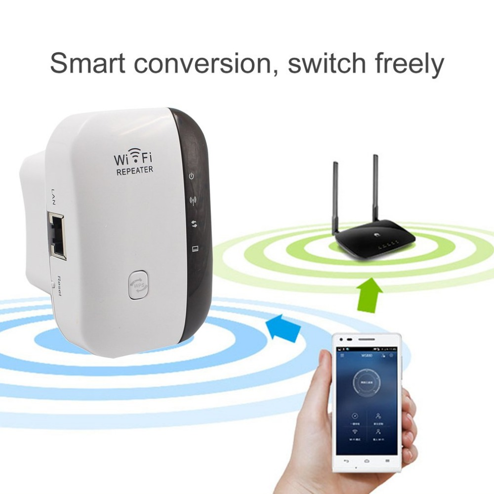WiFi Range Extender 300Mbps Wireless WIFI Repeater Mini Portable Signal Booster Wireless Access Point AP Signal Amplifier