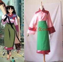 InuYasha Sango Kimono Anime Cosplay Costume