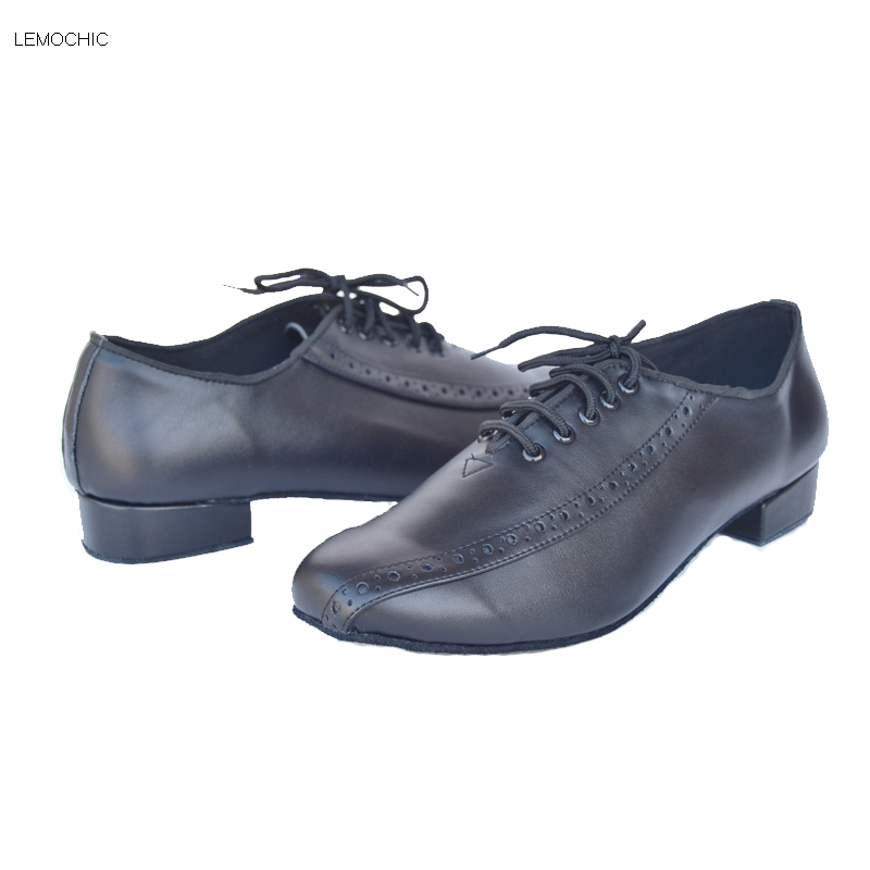 LEMOCHIC  male tango flamenco party arena samba rumba latin ballroom cha cha dance sneakers modest dancing shoes best seller