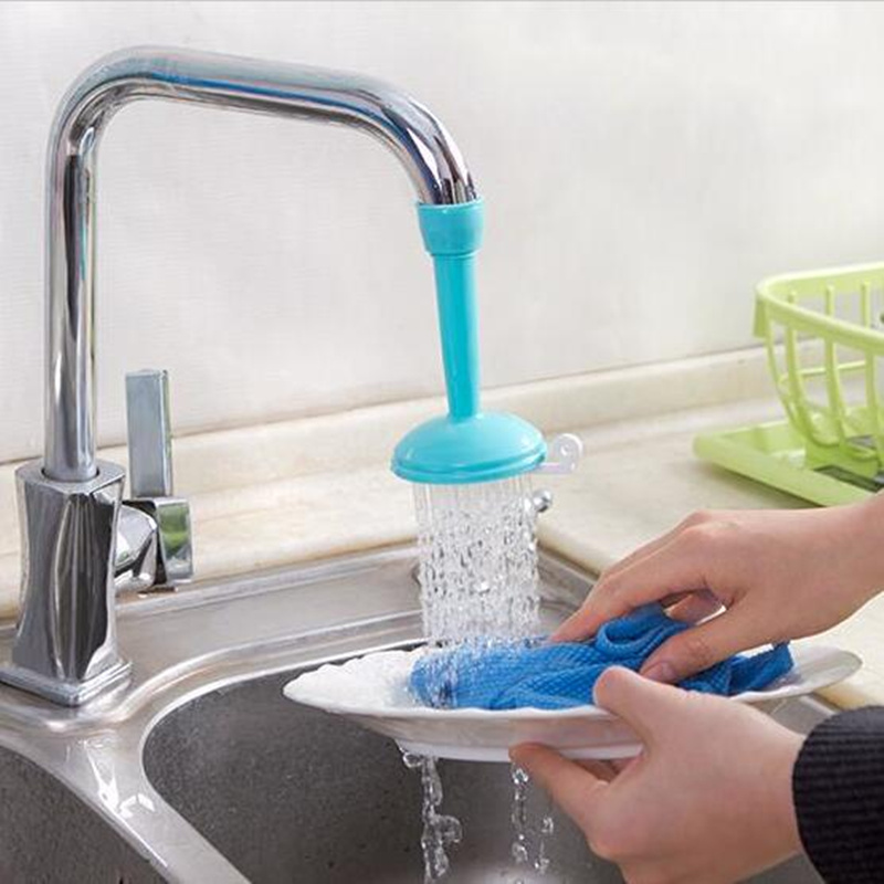 Creativity adjustable Kitchen Faucet extender Bubbler Water Diffuser Wash Basin Nozzle Adapter Water Saving Faucet Accessories