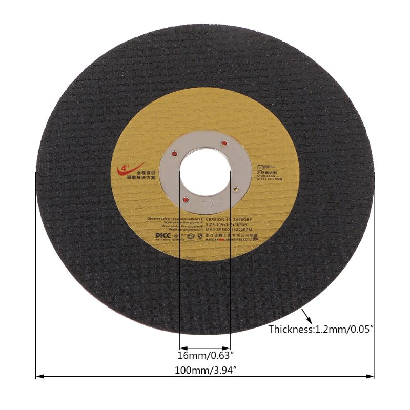 5pcs Abrasive Metal Cutting Saw Blades Cut Off Wheel Sharpener Diamond Grinding Disc Wheel High Performance Random Color