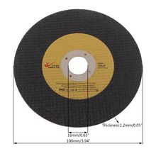 5pcs Abrasive Metal Cutting Saw Blades Cut Off Wheel Sharpener Diamond Grinding Disc Wheel High Performance Random Color 152mm 9 21pcs set thick1 4mm metal grinding wheel reinforced resin cutting disc high speed steel saw blades for angle grinder