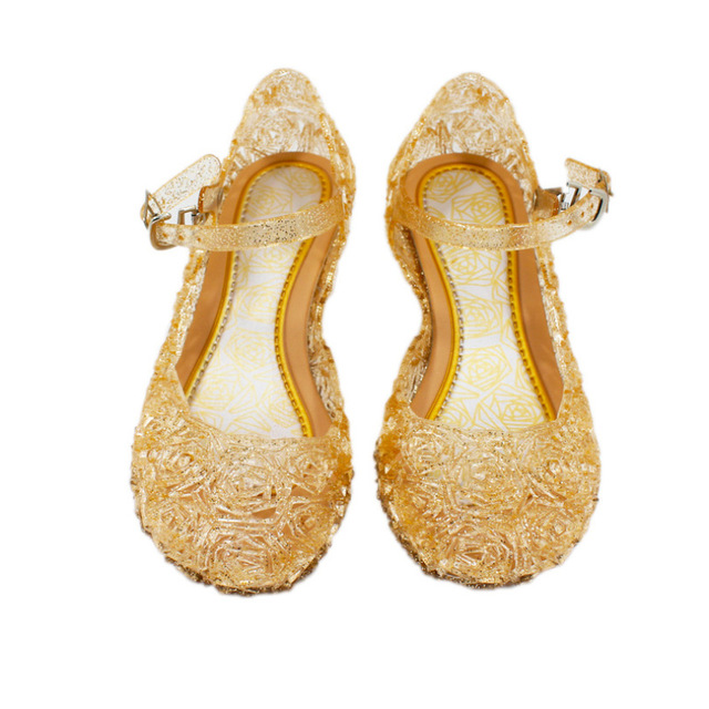 Ice Snow Shoes Elsa Crystal Shoes Cinderella Girls Princess Shoes Children 1
