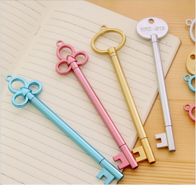 2pcs/ lot Japan Creative fine small key Gel pen/cute Cartoon/Good quality/School supplies/stationery/papelaria GT158