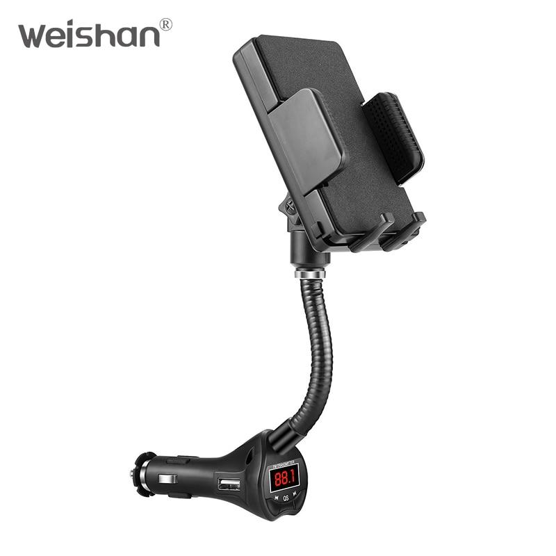 weishan Wireless FM Transmitter Radio Car Kit համար Smart - Ավտոմեքենաների էլեկտրոնիկա - Լուսանկար 3