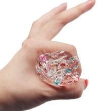 Crystal Clear Fluffy Slime