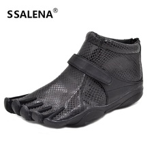 Новые женские нескользящие резиновые прогулочные туфли с пятью пальцами дышащие уличные спортивные туфли высокое качество; размеры 36-40;# b70