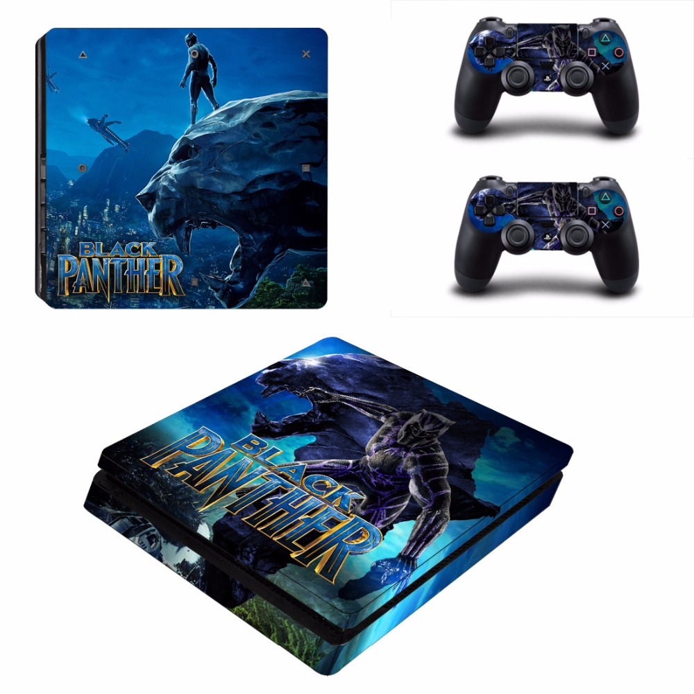 Faceplates, Decals & Stickers Careful Regular Ps4 Console Controller Skins Marvel Hero Black Panther Vinyl Stickers Video Games & Consoles