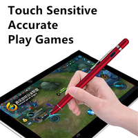 screen pencil samsung Precision Stylus for apple ipad Pro for Samsung Tab A 10.1 Tablet Pencil for iphone draw Write Game Capacitive Screen touch Pen (5)