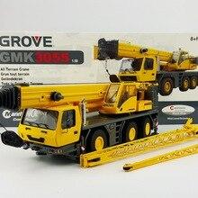 Редкий сплав модель подарок TWH 1:50 Масштаб роща GMK3055 кран грузовик инженерные транспортные средства литья под давлением игрушка модель для коллекции, украшения