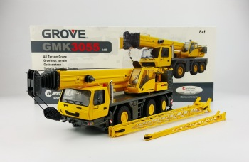 Rare Alloy Model Gift TWH 1:50 Scale Grove GMK3055 Crane Truck Engineering Vehicles Diecast Toy Model For Collection,Decoration