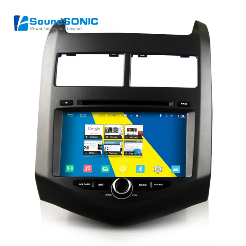 Android 4.4.4 For Chevrolet Aveo Sonic 2011 2012 2013 2014