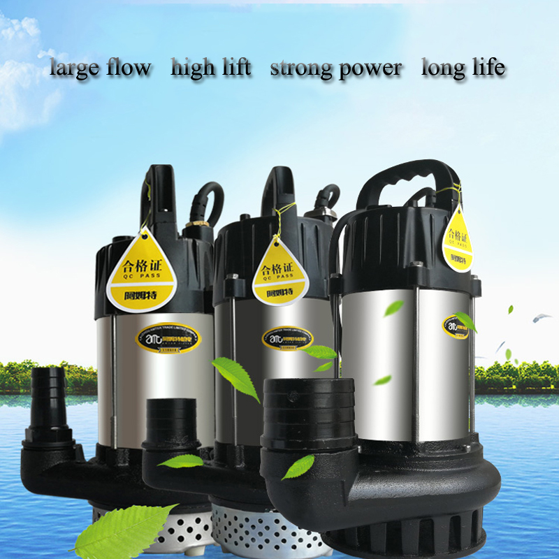 dc brushless solar water pump mini dc brushless pump DC24V brushless submersible pump for garden SS304