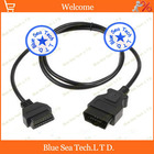 1 pcs OBD 16 Pin Female to 16 Pin Male Diagnostic Cable,ELM327 extension cord/cable for Car,150cm OBD long cable