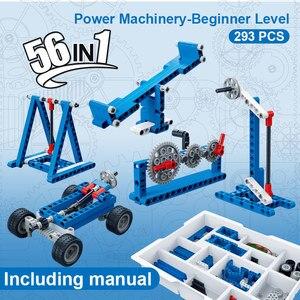 Image 2 - Banbao moc 6918電源機レバレッジテクニック実験レンガ教育モデルのビルディングブロックのおもちゃ子供キッズギフト