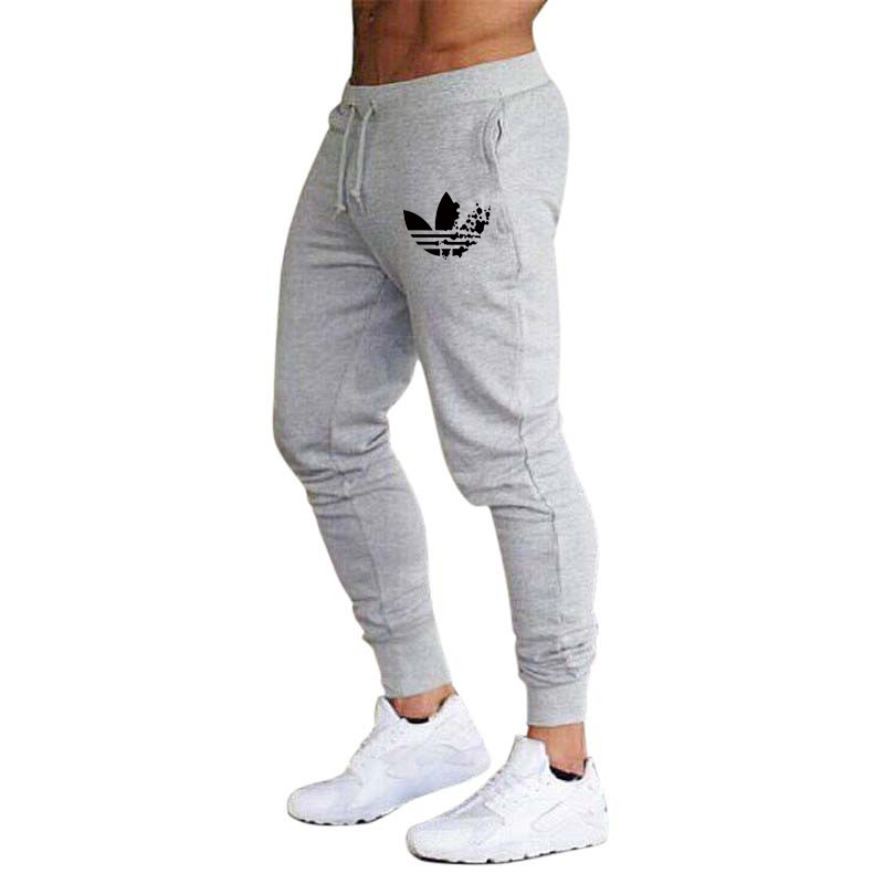 New sportswear fitness Pants Casual Mens Thin section Fitness Workout Pants skinny Bodybuilding Sweatpants Trousers Jogger Pants(China)