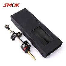 SMOK Universal Motorcycle Adjustable Steering Damper Stabili
