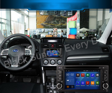 quad core android 5.1.1 car dvd player for Forester Impreza 2008 2009 2010 2011 radio free map 8G SD card support  DAB+