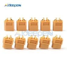 цена на 5 Pairs XT60 XT-60 Male Female Bullet Connectors Plugs For RC Lipo Battery Motor