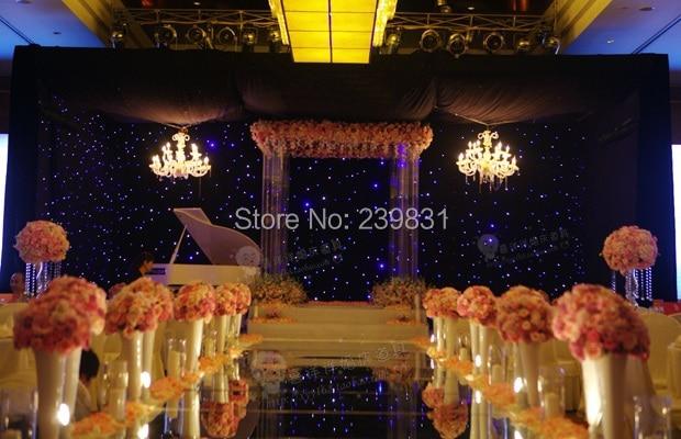 Düğün Dekorasyon-lbright gümüş-altın çift taraflı düğün - Tatiller ve Partiler Için - Fotoğraf 6