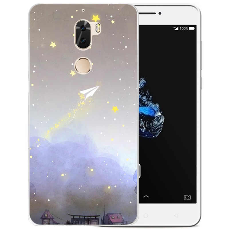buy online 6b3ab 21305 Fashion Starry sky Phone Case For Coolpad cool play 6 Cases Cartoon Back  Cover soft silicone for coolpad VCR-A0